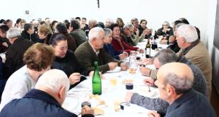 Lamas celebra o Natal com Seniores da Freguesia