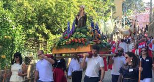 Procissão deu cor e brilho à Festa de Santo António em Lamas