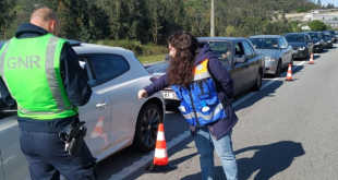 GNR de Braga reforça fiscalização rodoviária para evitar passeios
