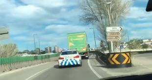 Torrestir escoltada pela PSP de Coimbra para entrega de equipamentos hospitalares