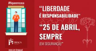 Braga vai celebrar 25 de Abril com programa digital de espetáculos musicais