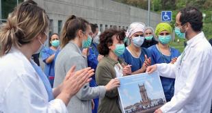 Profissionais de Saúde do Hospital de Braga homenageados pela Polícia e Bombeiros