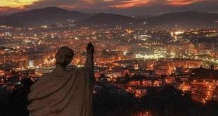 Cidade de Braga abençoada desde o Bom Jesus do Monte