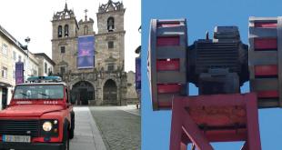 Bombeiros Voluntários de Braga tocam sirenes para assinalar a morte de Jesus