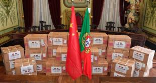 Dez mil máscaras descartáveis e 500 kits médicos de proteção chegam a Braga