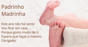 Domingo de Ramos: Padre de Braga pede que afilhados enviem mensagem às madrinhas