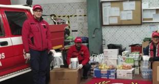 Claque do SC Braga solidária com Bombeiros Voluntários