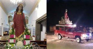 Santa Luzia percorreu ruas da Carreira em Barcelos