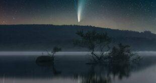 Fotógrafo regista passagem do cometa Neowise pelo Gerês