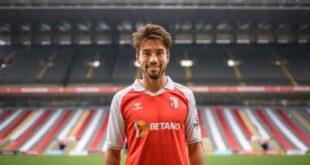 Nico Gaitán é oficialmente jogador do SC Braga