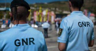 GNR deteve 447 pessoas em todo o país na última semana