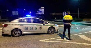 33 acidentes registados pela GNR em 12 horas
