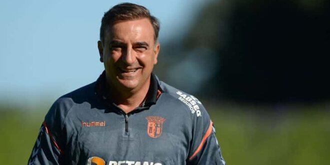Carlos Carvalhal quer fazer um grande jogo frente ao Benfica