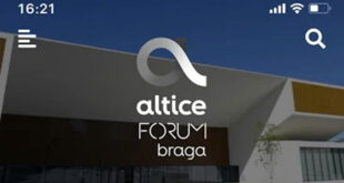Altice Forum Braga já tem aplicação móvel