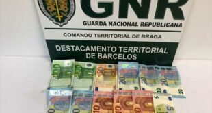 GNR detém dois homens que praticaram vários crimes em Braga