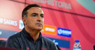 """Carlos Carvalhal: """"O SC Braga vai lutar pelos três pontos com muita determinação"""""""