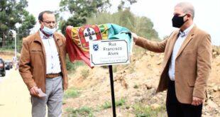 Ex-presidente de Gondizalves homenageado com nome em rua na freguesia