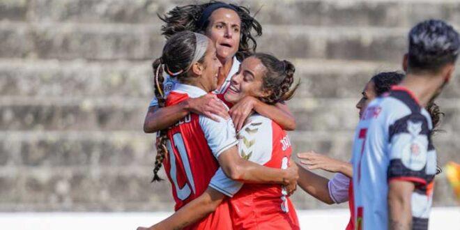 SC Braga está nas meias finais da Taça da Liga Feminina