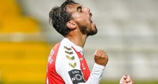 SC Braga arrasa Tondela por 0-4