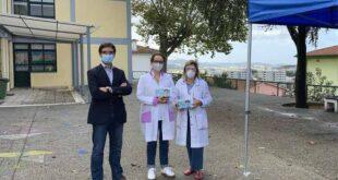 Braga: SãoVictor oferece tenda e termómetros infravermelhos à EB1/JI do Bairro da Alegria