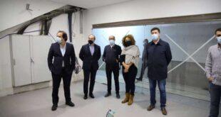 Victor Hugo Salgado visitou obras no Estádio Clube de Vizela