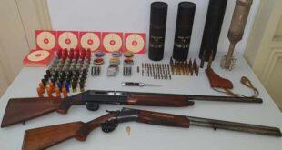 GNR apreende armas proibidas e identifica homem de 72 anos em Fafe