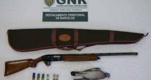 Homem detido em Barcelos por caça ilegal