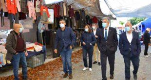 Cabeceiras de Basto: Francisco Alves visitou Feira Semanal