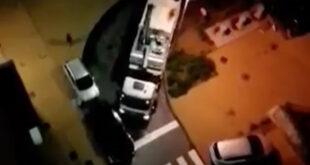 Estacionamento abusivo em Braga dificulta passagem de camião da AGERE