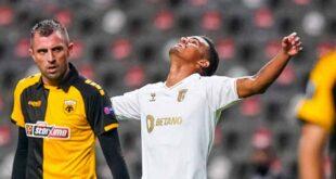 SC Braga goleia AEK na estreia da Liga Europa