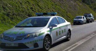 GNR registou 23 acidentes nas últimas 12 horas