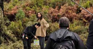 Diogo Morgado está no Gerês em gravações de nova série da RTP