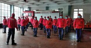 Bombeiros de Braga apelam à comunidade para respeitar regras no combate à Covid-19