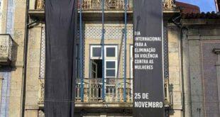 Braga: São Victor coloca faixas pretas pelo fim da violência contra as mulheres