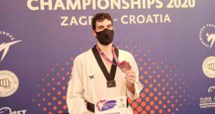 SC Braga Taekwondo: Júlio Ferreira vence medalha de bronze no Open de Zagreb