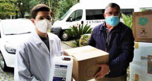 Braga: Padim da Graça oferece material de proteção a instituição social