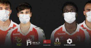 "SC Braga une-se à campanha ""Braga fecha a porta ao vírus"""