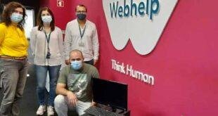 Webhelp Braga cede computadores para apoiar crianças do Bairro das Andorinhas