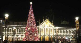 Luzes de Natal já iluminam as ruas de Braga