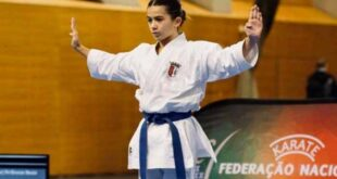 Emma Barros vence medalha de prata no Karaté 1 Youth League