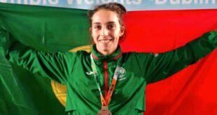 Joana Cunha conquista a medalha de bronze no Campeonato da Europa de Taekwondo