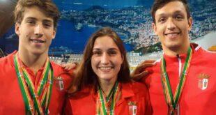 José Lopes e Tamila Holub conquistam nove medalhas no Open de Portugal