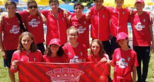 SC Braga arrecada 10 medalhas no Campeonato Nacional de Infantis em Natação
