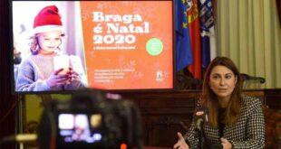 """""""Braga é Natal"""" vai manter-se este ano com programa adaptado"""