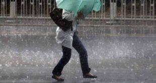 Mau tempo vai continuar. Alerta para chuva e vento forte em Braga.
