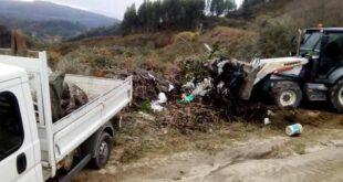 Cabeceiras de Basto recolheu 32 toneladas de resíduos diversos em lixeiras clandestinas