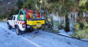 Proteção Civil de Vieira do Minho espalhou quatro toneladas de sal-gema nas estradas