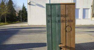 Guimarães com Ecopontos nas escolas para recolha e valorização de máscaras