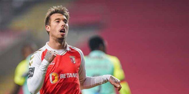 Golo de Iuri Medeiros do SC Braga considerado o melhor de dezembro