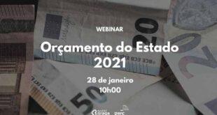 InvestBraga promove webinar sobre Orçamento do Estado 2021
